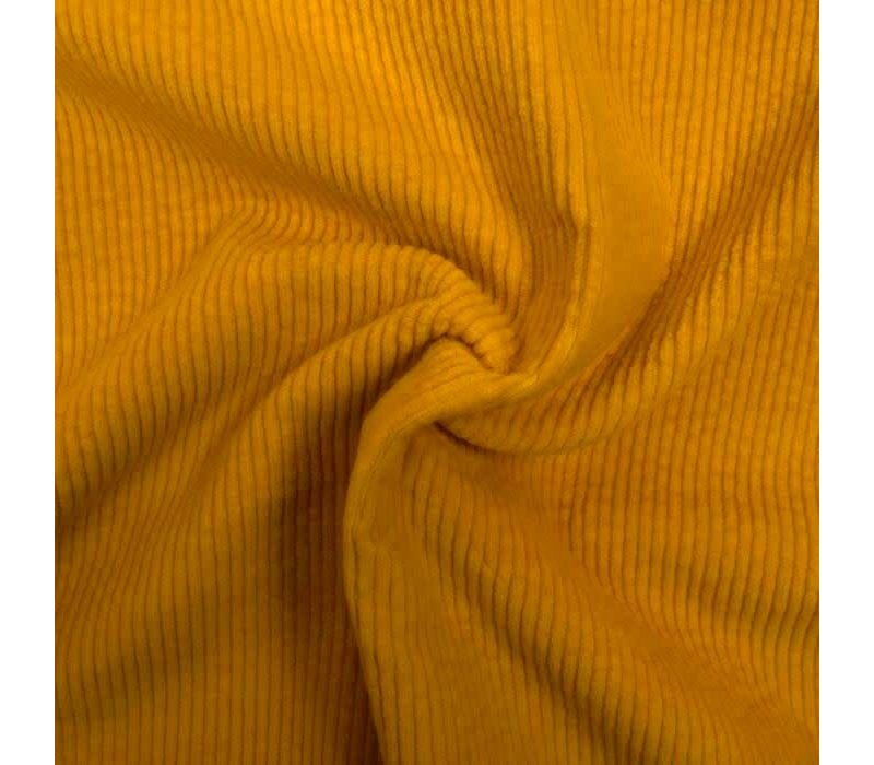 Corduroy brede ribfluweel - sun