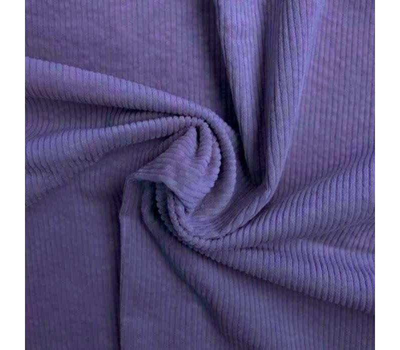 Corduroy brede ribfluweel - Lila