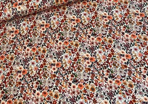 De Stoffenkamer Double Gauze - flower field