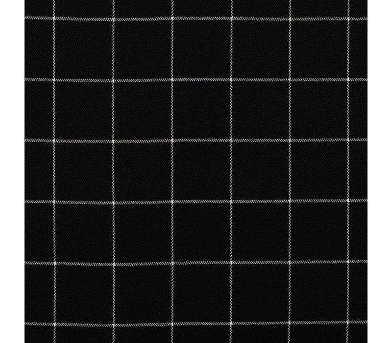 Tartan Checks Flanel - black / white