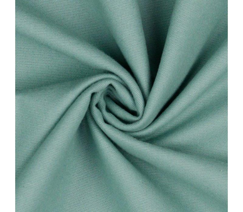 Flanel uni - mint