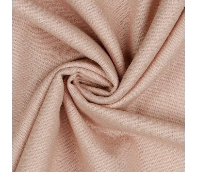 Flanel uni - soft pink