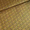 Kokka Fine  Cotton Little flowers Mustard Indigo