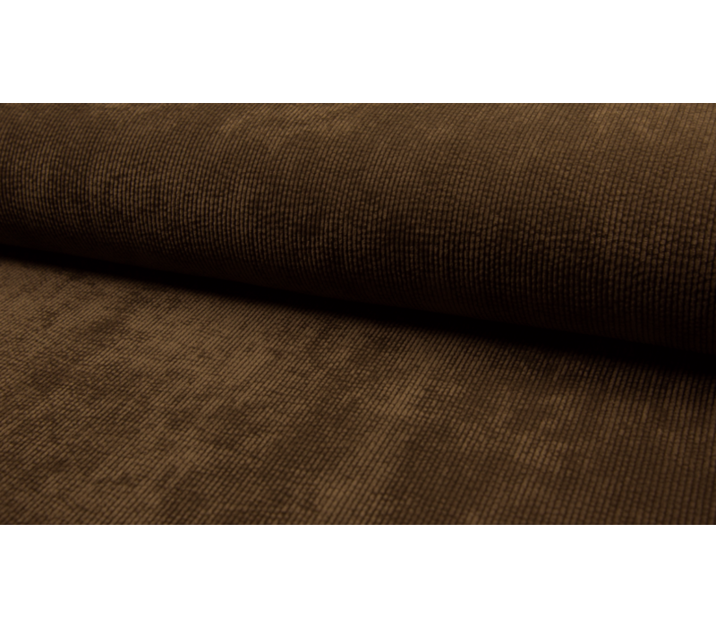 Corduroy Rib washed - dark brown