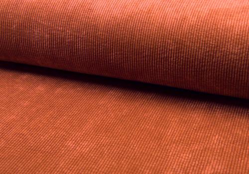 De Stoffenkamer Corduroy Rib washed - rusty pink