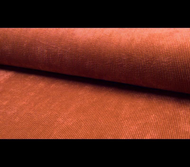 Corduroy Rib washed - rusty pink