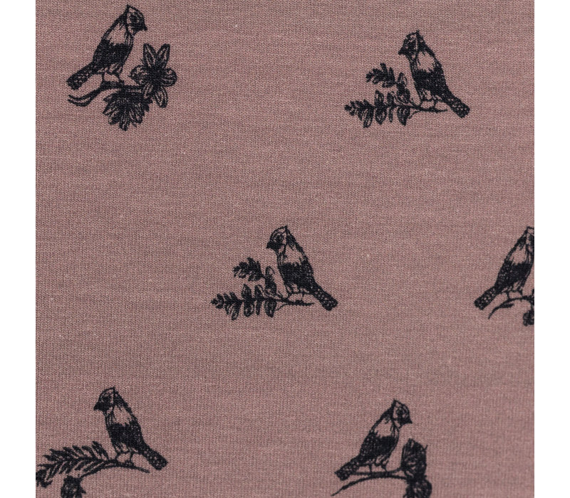 Tricot Twittering Birds - Old Lila