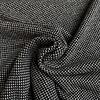 Soft Cotton Knit Weave - Black