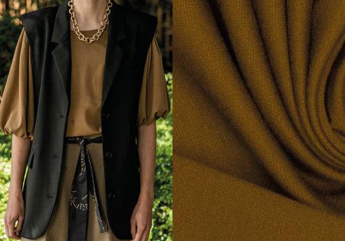 Fibre Mood Woven Plain Pantalon Tapenade - Doris