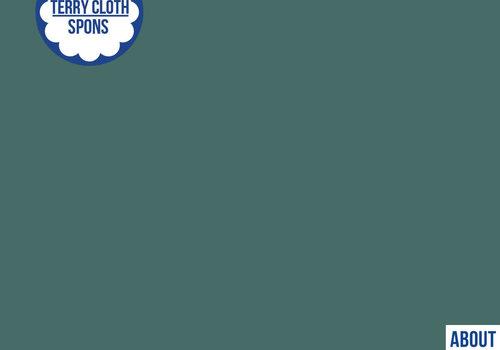 About Blue Fabrics Spons - Uni Blue Spruce