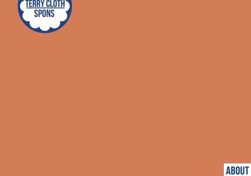 About Blue Fabrics Spons - Uni Coral Gold