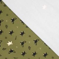 Glow in the dark Sweatertricot Fox green