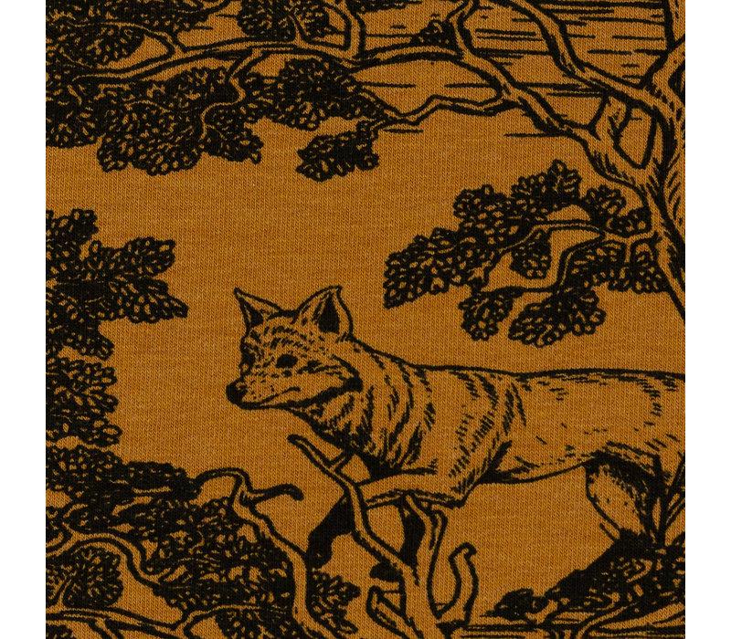 Sweater Drawn Wildlife ocre
