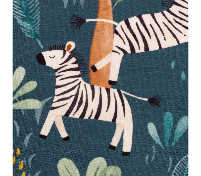 Tricot Savana Blue Zebra