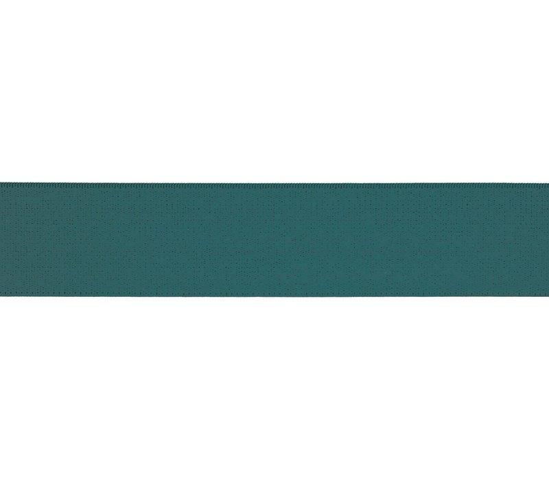 Taille Elastiek 30mm - Petrol