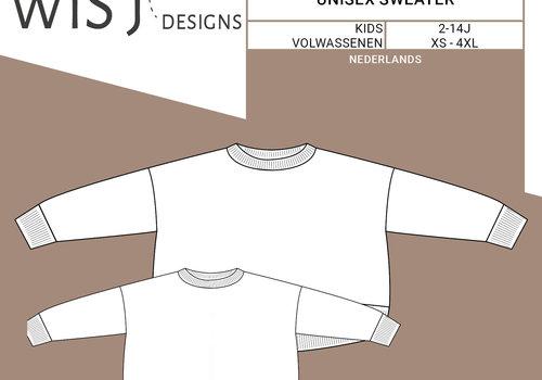 WISJ Patroon Casper Sweater Kids & volw