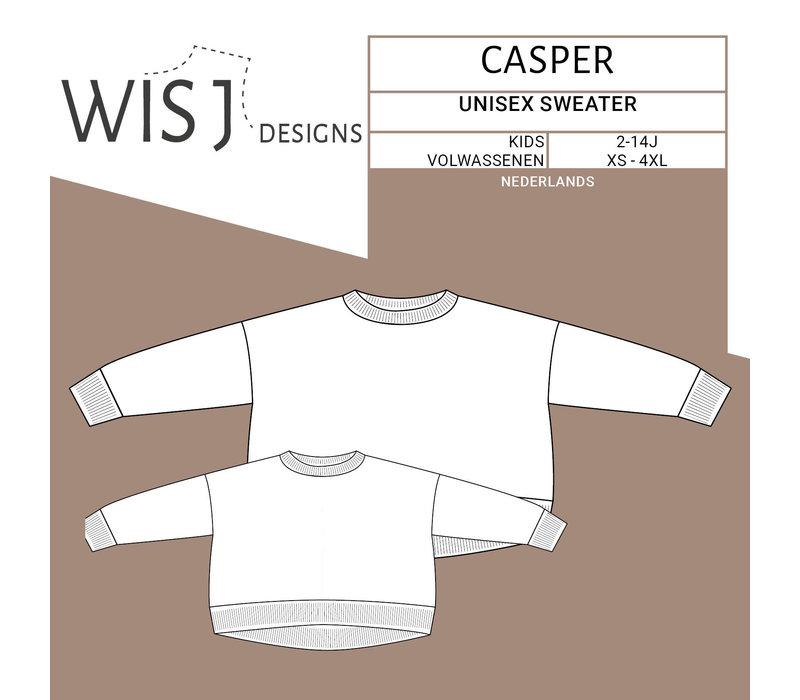 Patroon Casper Sweater Kids & volw
