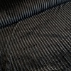 De Stoffenkamer Faux-Fur Big stripes Black