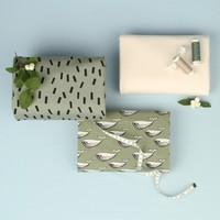 Bio tricot - Mini Whales Green