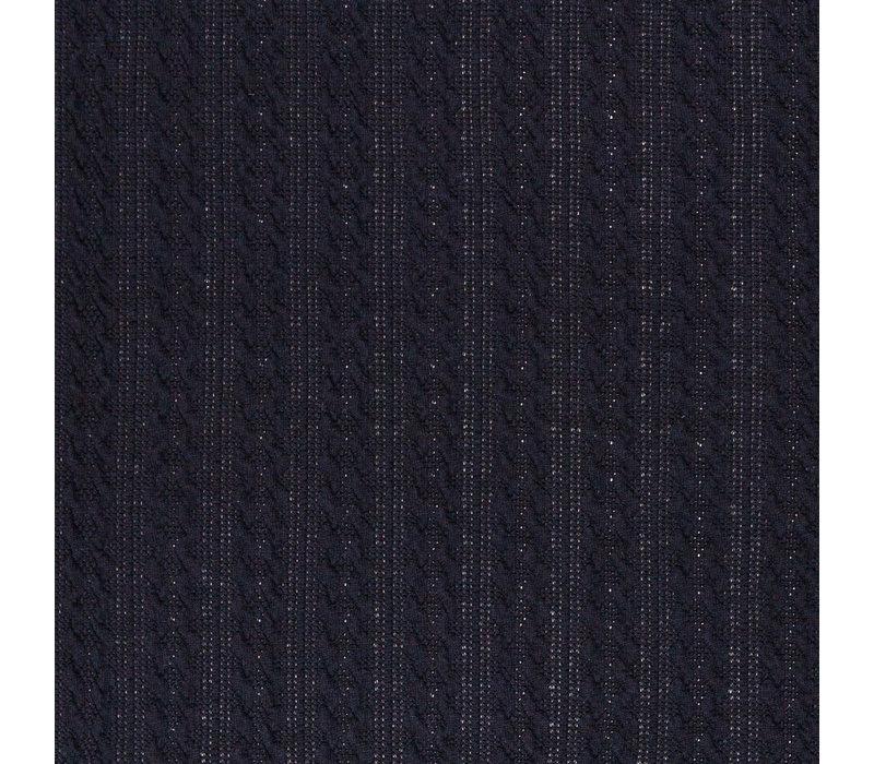 Braided Knit - Black