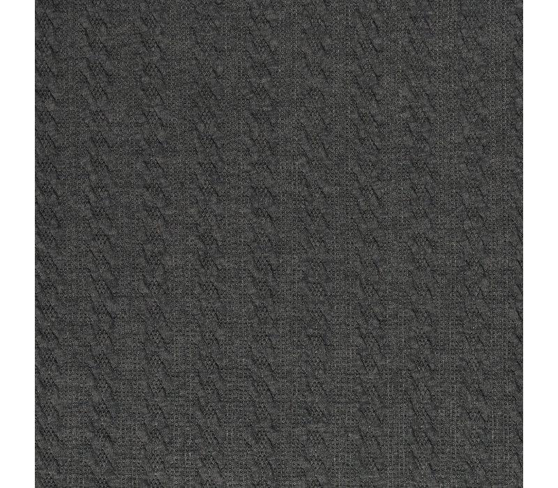 Braided Knit - Grey
