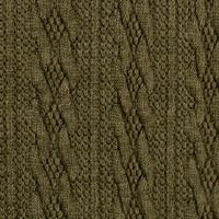 Braided Knit - Khaki