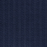 Braided Knit - Navy