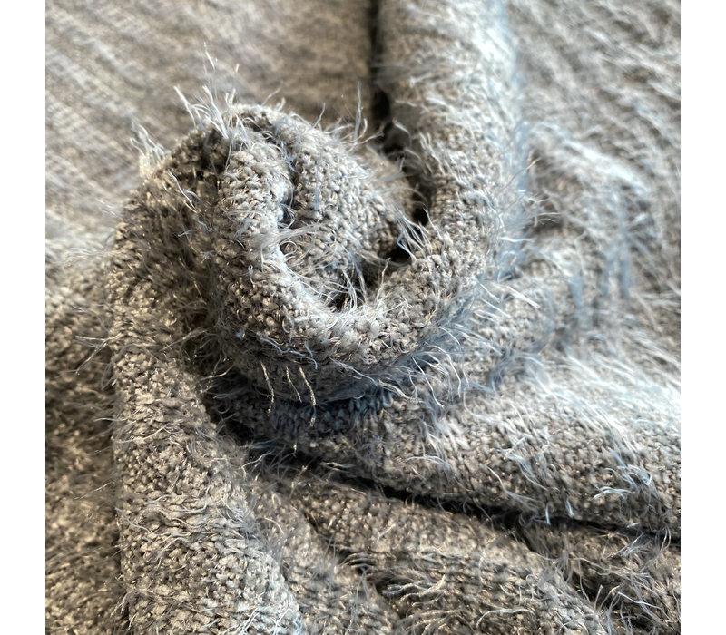 Breisel Furry Grijsblauw