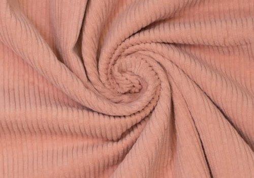 De Stoffenkamer Corduroy brede ribfluweel - Betty Muted Clay