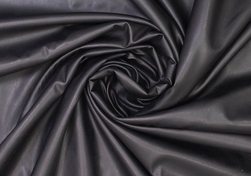 Fibre Mood Faux Leather Black - Tilda