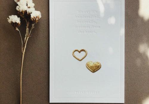 Petit Pourri Strijkapplicatie Twinning Mini Hearts
