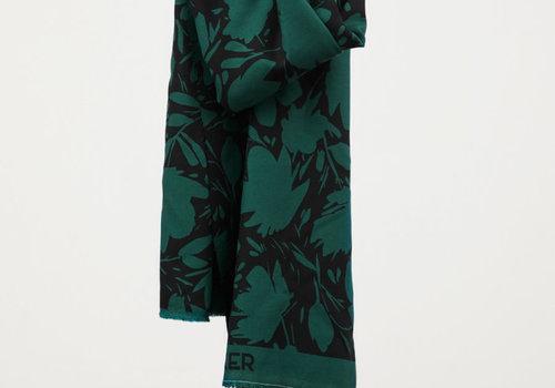 MeterMeter Leia Crepe - Floral Shade Bottle Green