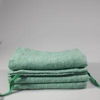 Linnen theedoek Linge Particulier Jeans groen