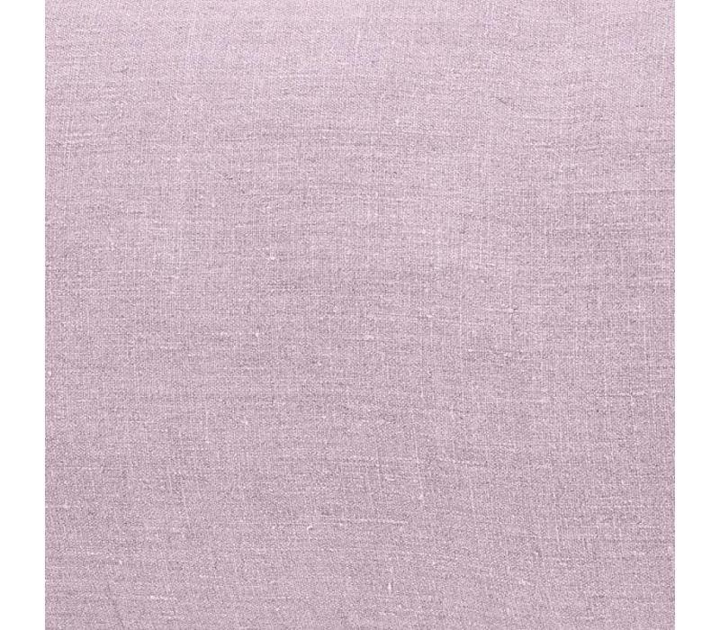 Linnen gordijn Uni roze