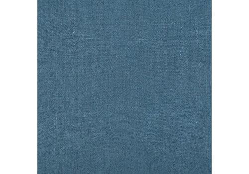 Harmony Linnen gordijn Uni bleu-mineral