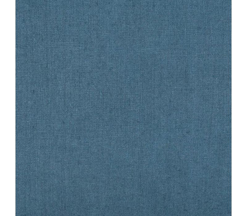 Linnen gordijn Uni bleu-mineral