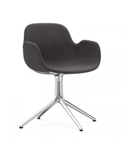 Form Armchair Full Upholstery 4L Swivel