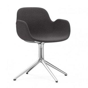 Form Armchair Full Upholstery 4L Swivel