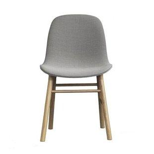 Form Chair Full Upholstery Oak legs