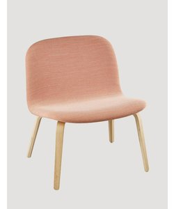 Visu Lounge Chair textile / leather shell