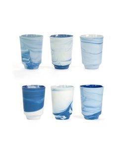 Pigments & Porcelain Cups per stuk