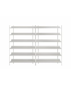 COMPILE SHELVING SYSTEM / CONFIGURATION 8 / CONFIGURATION 8 Grey