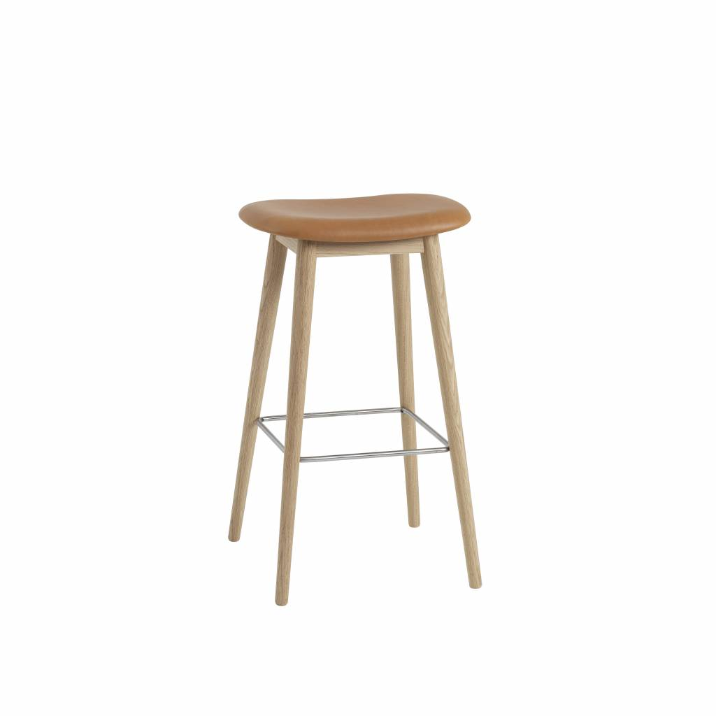 Surprising Muuto Fiber Bar Stool Wood Base Gmtry Best Dining Table And Chair Ideas Images Gmtryco