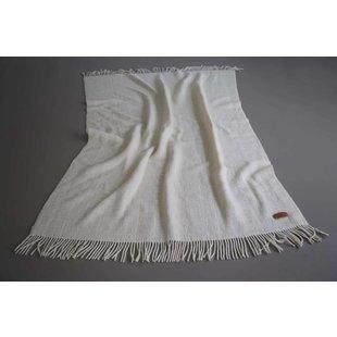 Blanket Fine Texel Wool White  200 x 130 cm