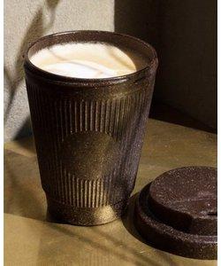 Reisbeker gemaakt van hergebruikt koffiepulp