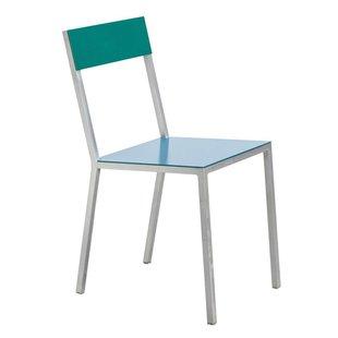 Alu Chair dark blue green showroommodel