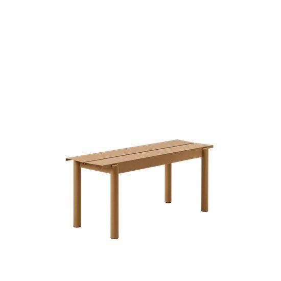 Incredible Muuto Linear Steel Bench 110 Cm Bralicious Painted Fabric Chair Ideas Braliciousco