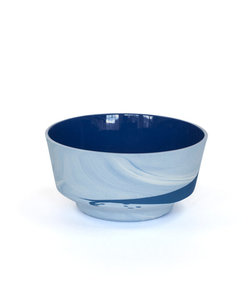 Pigments & Porcelain Bowl 450ml Cobalt Blue