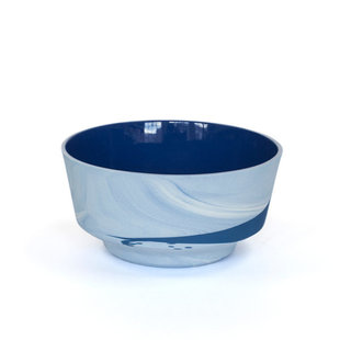 Pigments & Porcelain Bowl 450ml Cobalt Blue