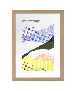 A4 Risoprint Torn Landscape I